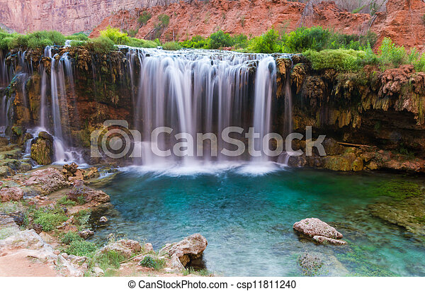 Desert oasis - csp11811240