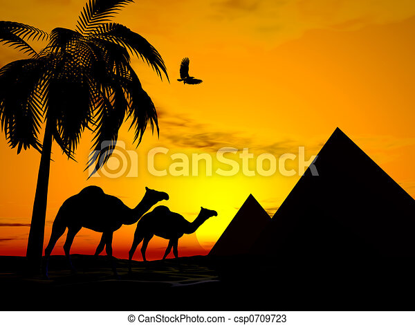 Line Drawing Of Desert Animals : Desert illustrations and clipart. 41 598 royalty free