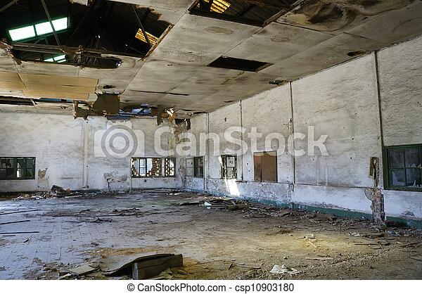Deserted factory - csp10903180