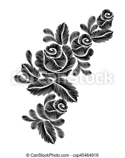 Desgastar Flor Pescoco Rosas Etnico Experiencia Moda