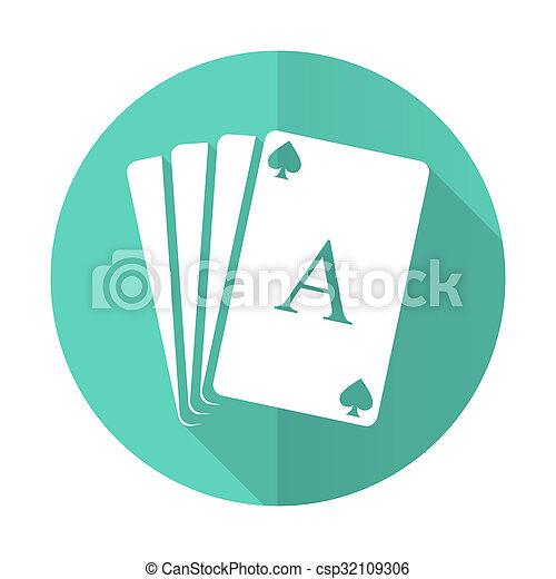 desgn, błękitny, karta, tło, ikona, koło, cień, płaski, długi, biały - csp32109306