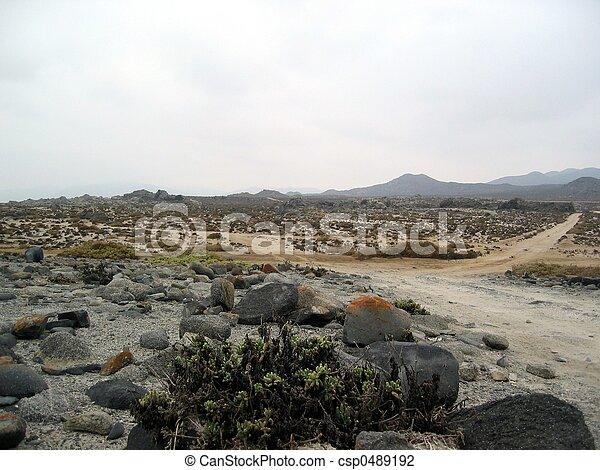 Desierto, chile - csp0489192