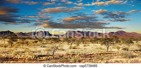 Desierto Kalahari, Namibia - csp5739485