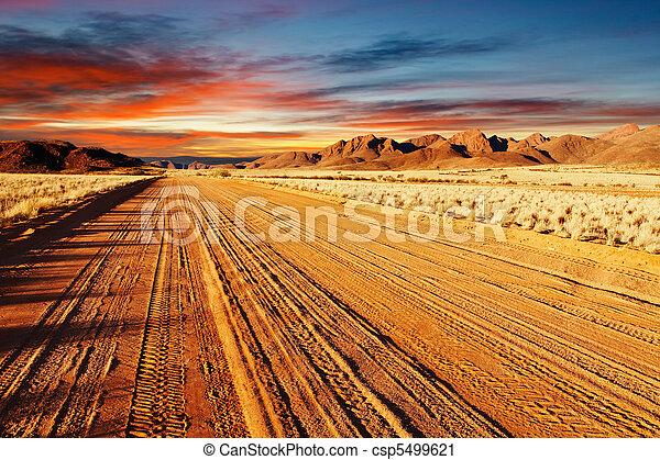 Desierto Kalahari, Namibia - csp5499621