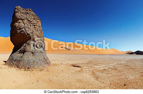desierto de Sahara, Algeria - csp6283863