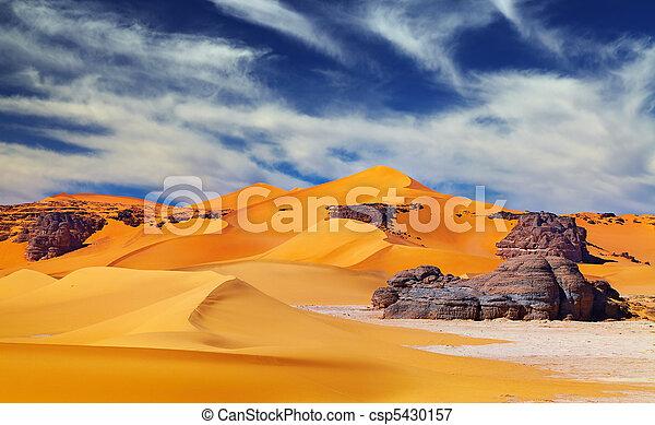 desierto de Sahara, Algeria - csp5430157