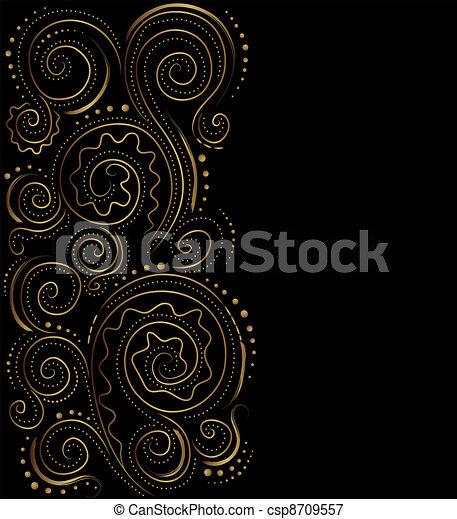 design, bakgrund, utsirad - csp8709557