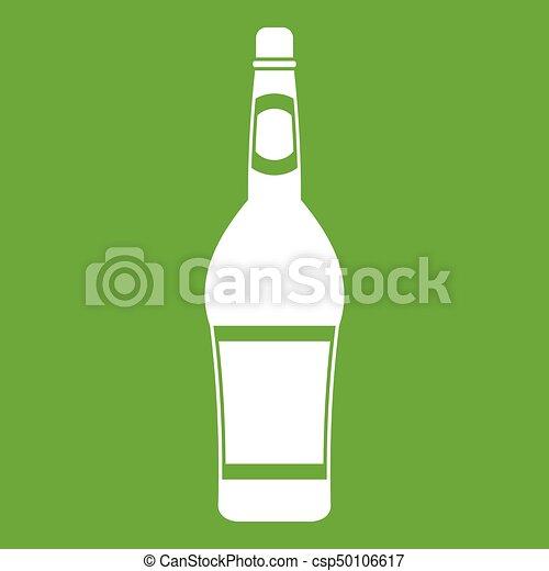 Design bottle icon green - csp50106617