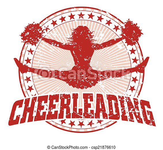 Cheerleading Design - Vintage - csp21876610
