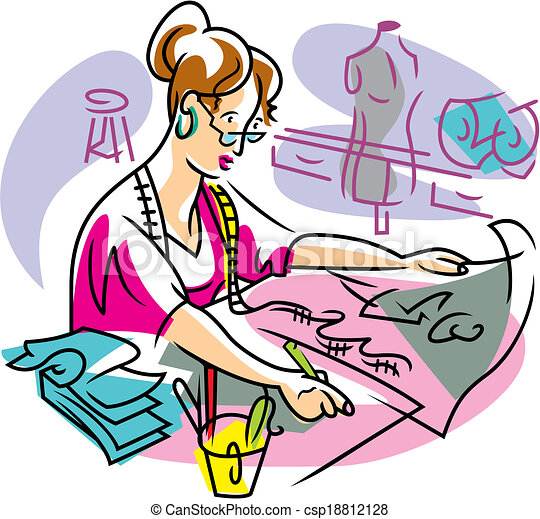 design clothes dress making patterns rh canstockphoto com making clip art photo of yourself making clip art in photoshop