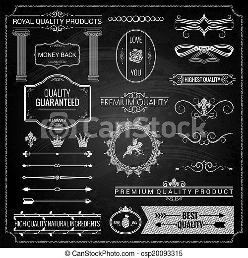 design elements chalk texture - csp20093315