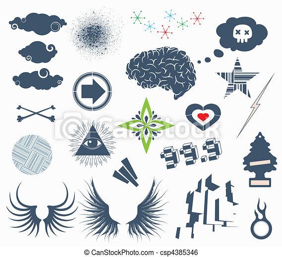 Design Elements - csp4385346