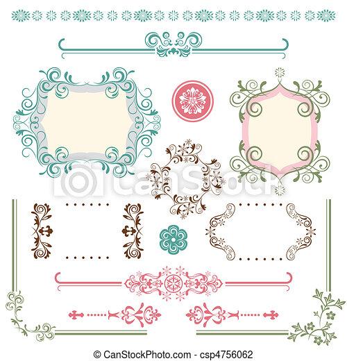 Design Elements Set - csp4756062