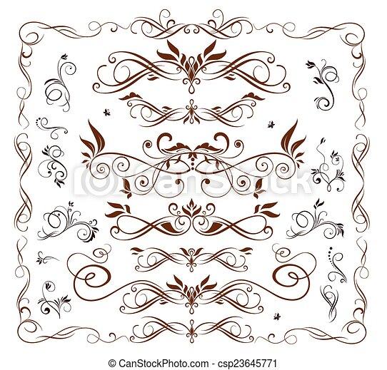 Design elements.Set - csp23645771