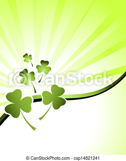 design for St. Patrick's Day - csp14821241