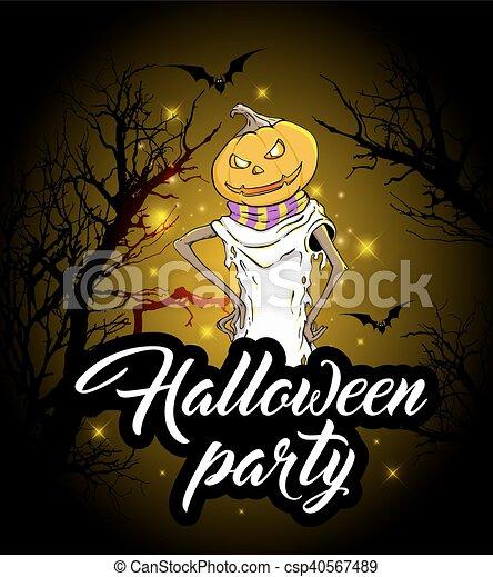 design, halloween festa - csp40567489