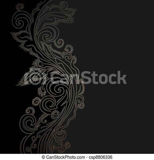 Design ornate background - csp8806336