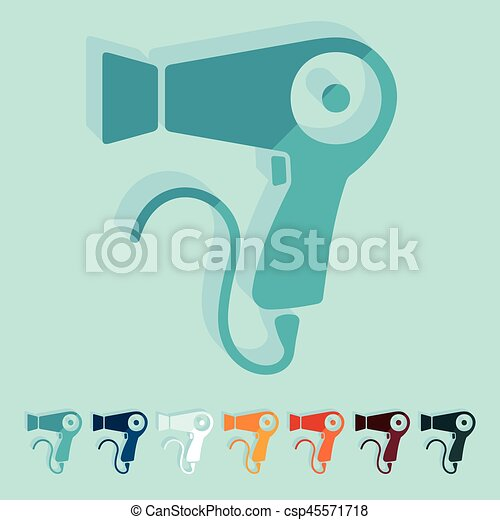 design:, plano, hairdryer - csp45571718