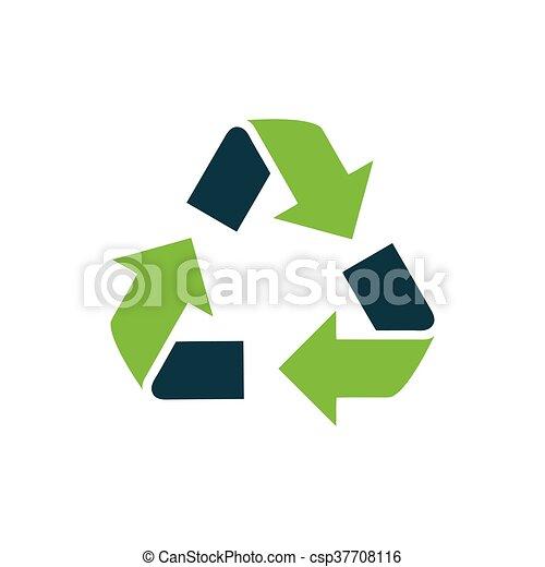 design Refresh Icon green - csp37708116