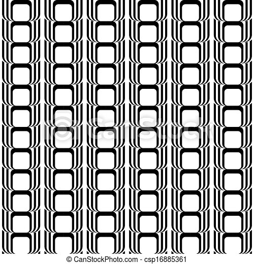 Design seamless black and white vertical geometric pattern csp16885361