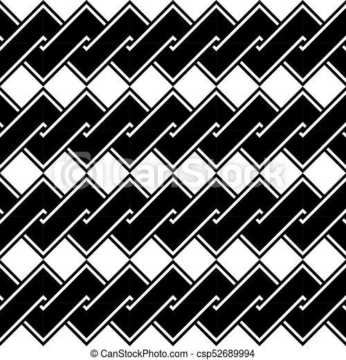 Design seamless monochrome spiral twisted pattern - csp52689994
