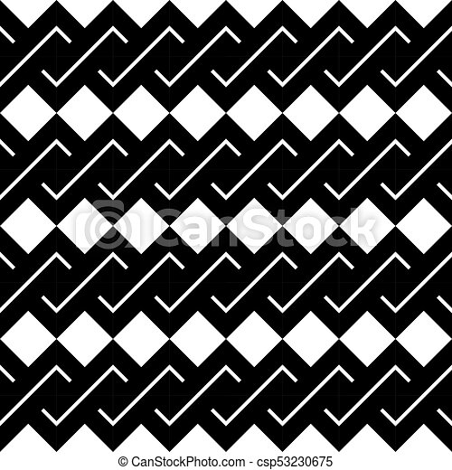 Design seamless monochrome spiral twisted pattern - csp53230675