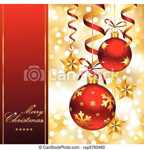 design, weihnachten - csp5760480