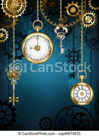 Design with clocks and gears