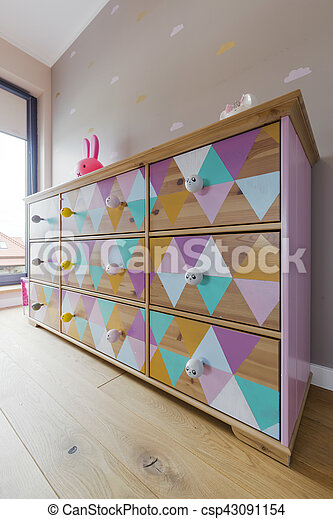 Designed chest of drawers - csp43091154