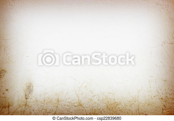 Designed grunge Old cement wall texture, background - csp22839680