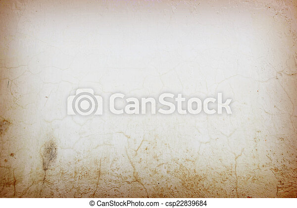 Designed grunge Old cement wall texture, background - csp22839684