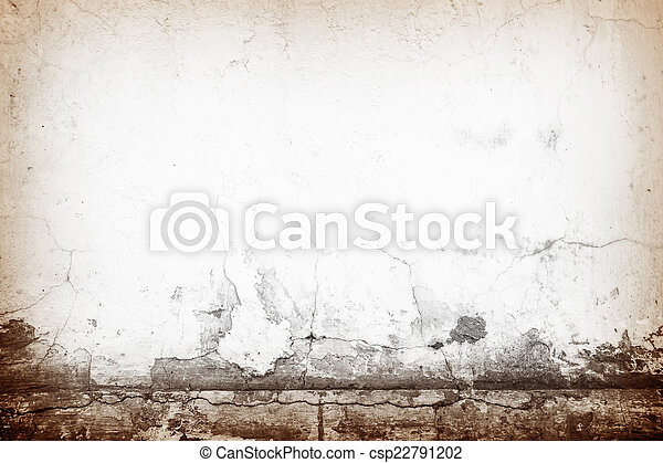 Designed grunge Old cement wall texture, background - csp22791202