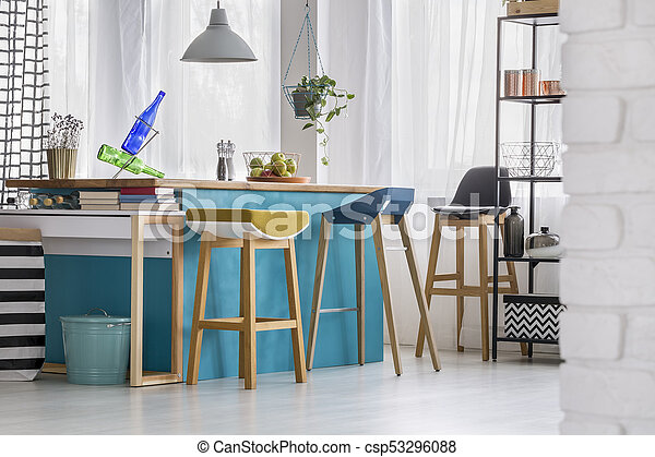 Swell Designer Bar Stools In Kitchen Inzonedesignstudio Interior Chair Design Inzonedesignstudiocom