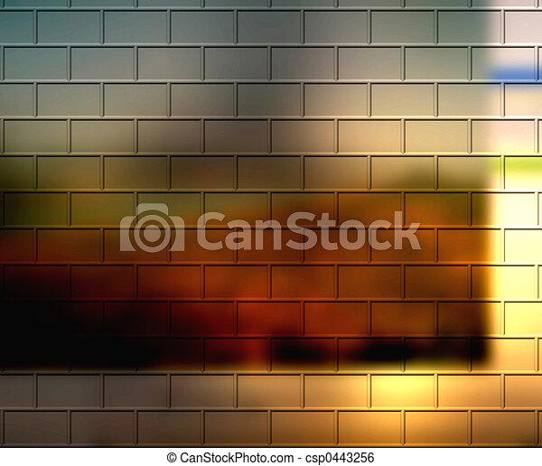 Designer Bricks - csp0443256