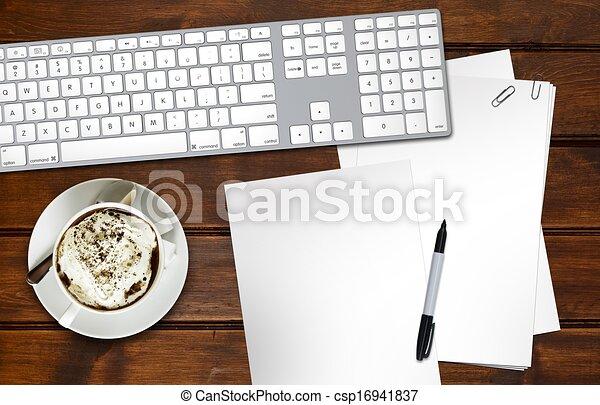 Designer Desk - csp16941837