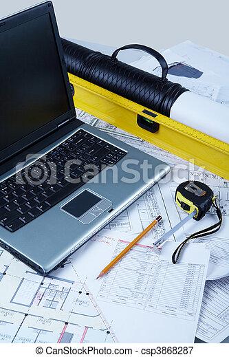 Designer workspace - csp3868287