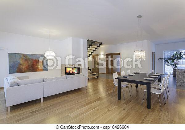 Designers interior - inside - csp16426604