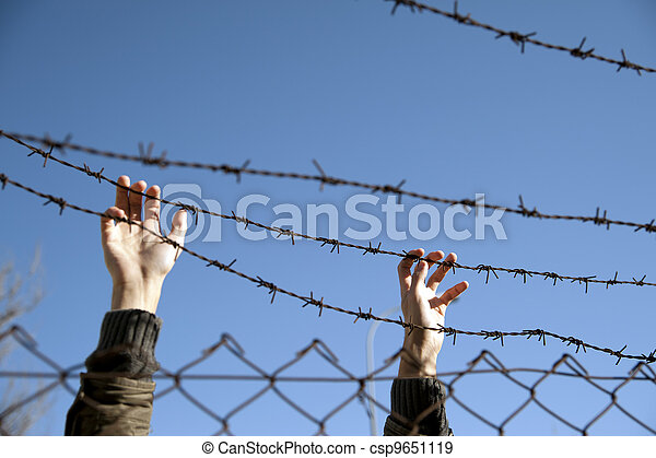 desire for freedom - csp9651119