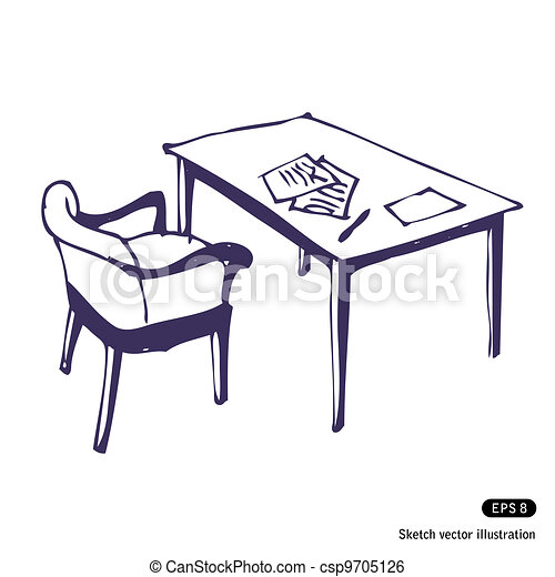 Fine Desk And Chair Isolated Onthecornerstone Fun Painted Chair Ideas Images Onthecornerstoneorg