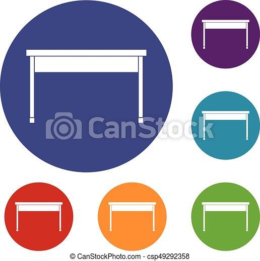Desk Icons Set