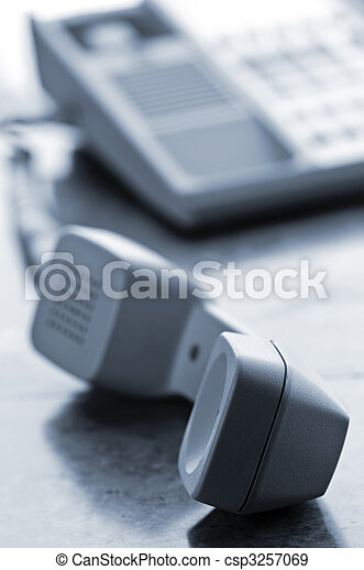 Desk telephone off hook - csp3257069