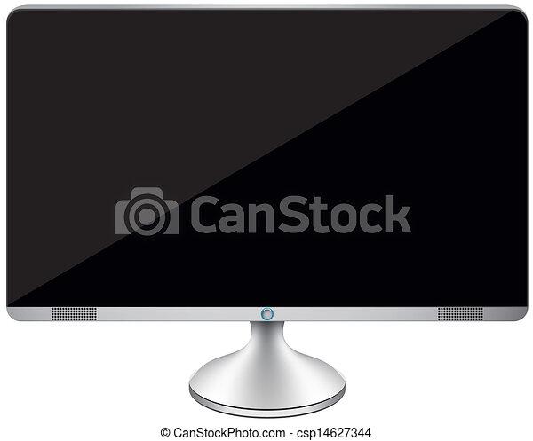 desktop computer - csp14627344