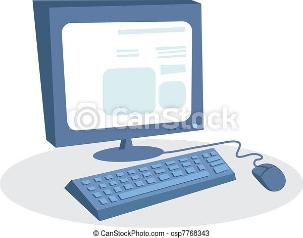Desktop computer - csp7768343