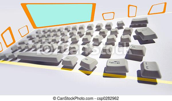 Teclado desordenado - csp0282962