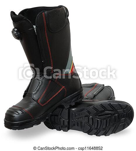 despeça segurança, sapatos - csp11648852