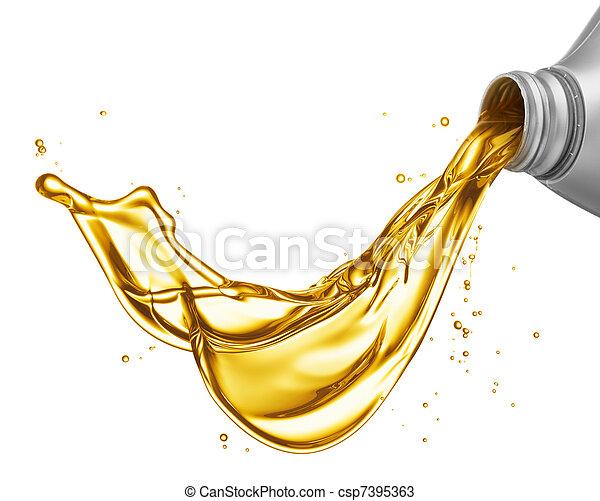 despejar, óleo - csp7395363