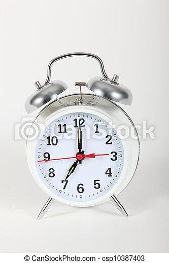Reloj de alarma - csp10387403