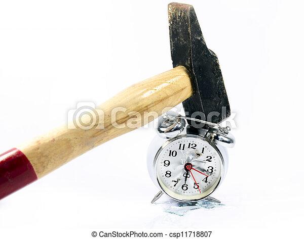 Reloj de alarma - csp11718807