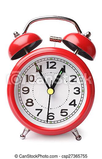Reloj de alarma - csp27365755
