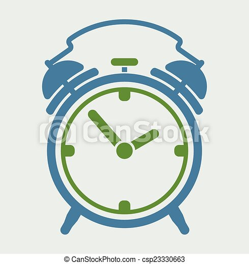 Reloj de alarma - csp23330663